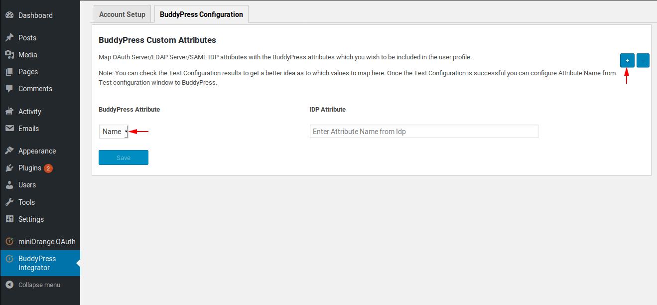 webový server pro buddypress jak napsat profil pro příklady online seznamování