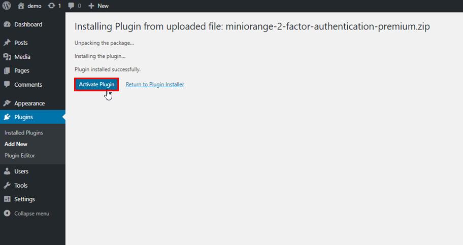 miniOrange-2-Factor-WordPress